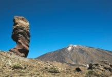 Teide Roque Cinchado el dedo de DiosRuta 040 sendero top Tenerife
