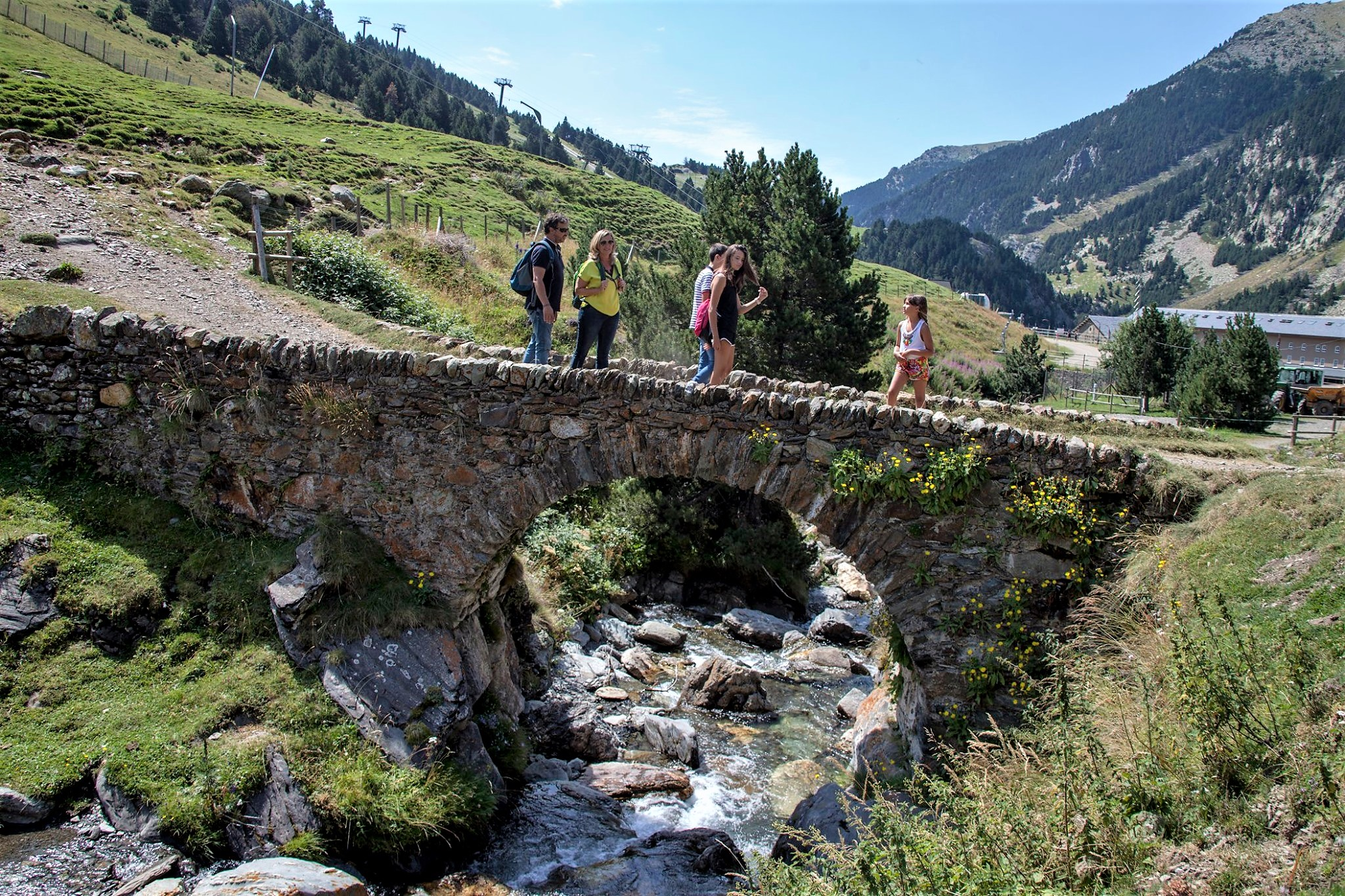 Vall de Nuria turismo familiar