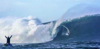 Conor Maguire surf ola 18 metros Mullaghmore Head Irlanda