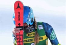 Mikaela Shiffrin 67 Courchevel