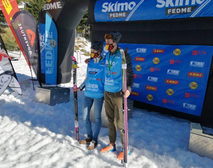Oriol Cardona Marta Garcia Copa de España de skimo