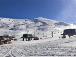 Sierra Nevada estación de esquí