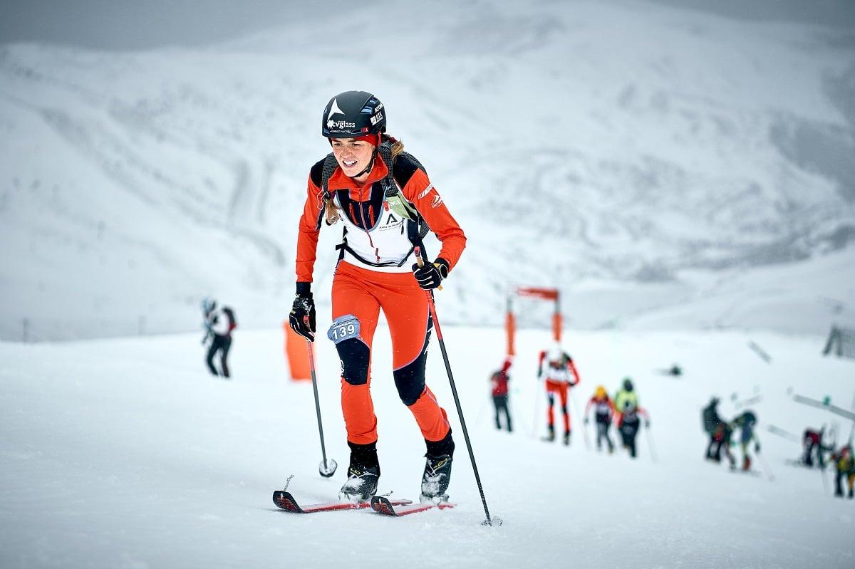 Ana Alonso Campeonatos España esquí de montaña