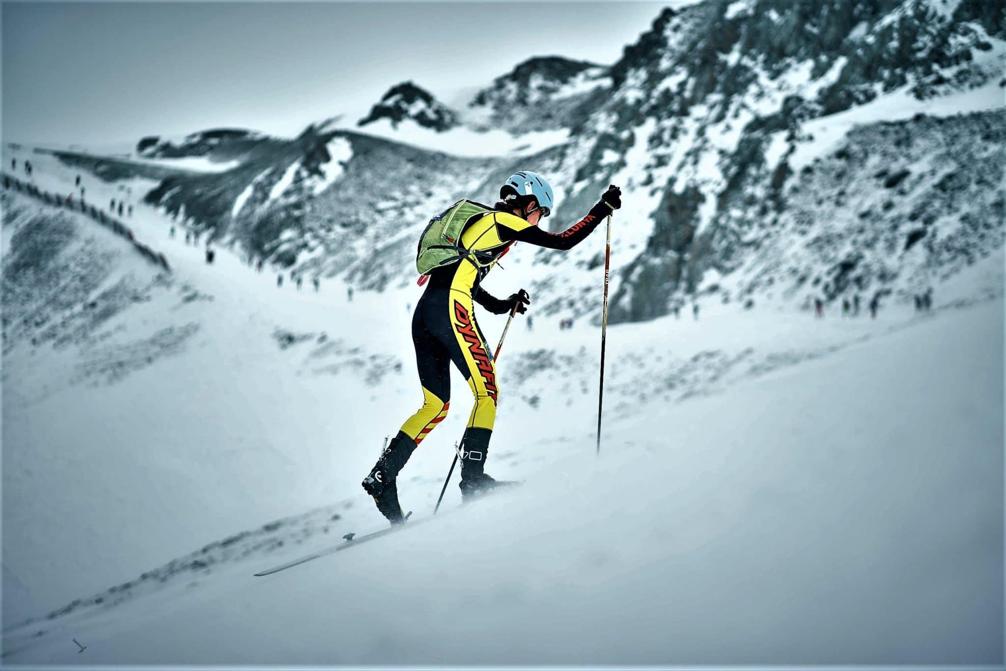Marta Garcia Campeonatos España esquí de montañan