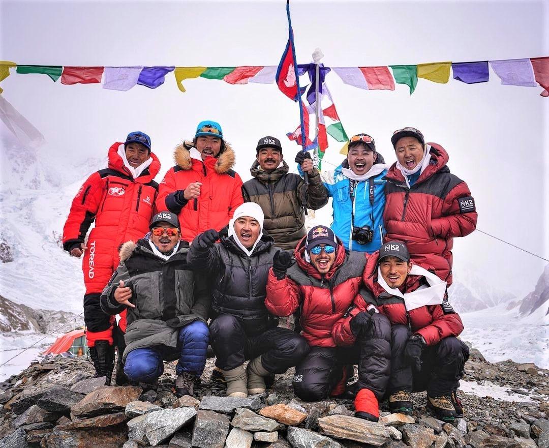 Nirmal Purja K2 invernal