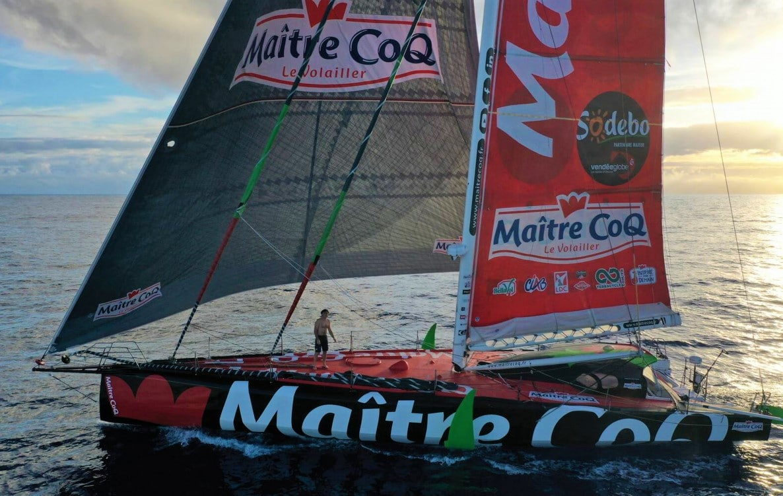 Yannick Bestaven Vendée Globe