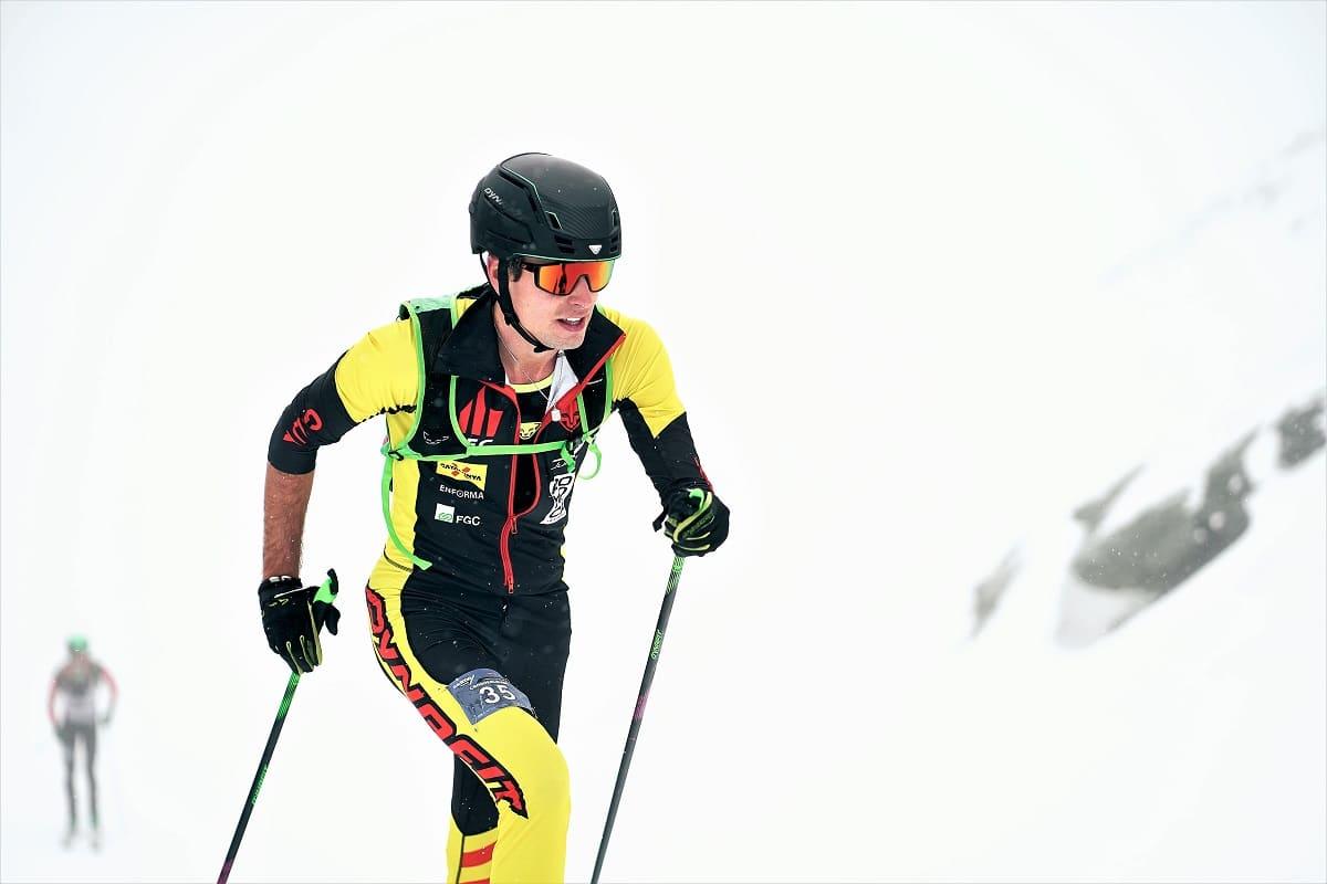 Oriol Cardona Campeonatos España esquí de montañan Boí Taüll