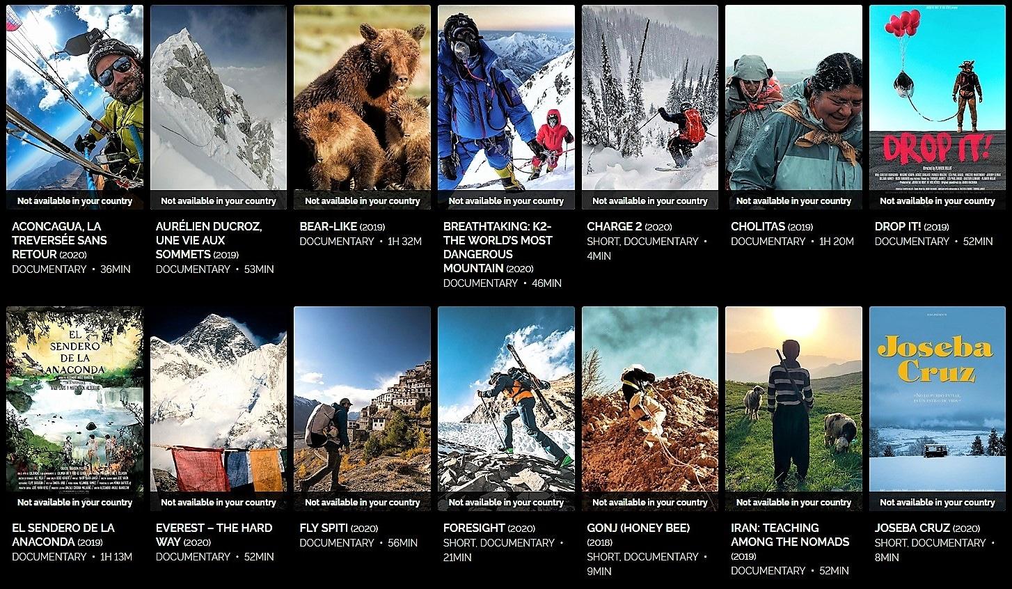online del Festival de Cine de Montaña de Torelló