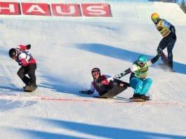 Lucas Eguibar snowboardercross Idre Fjäll