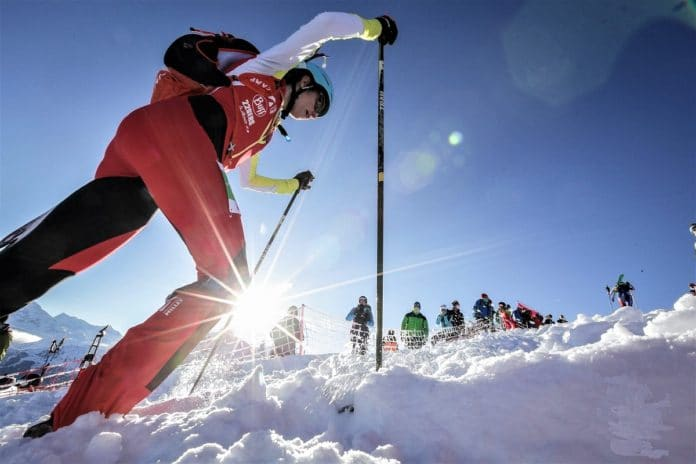Marta Garcia Oriol Cardona Copa del Mundo esquí de montaña Verbier