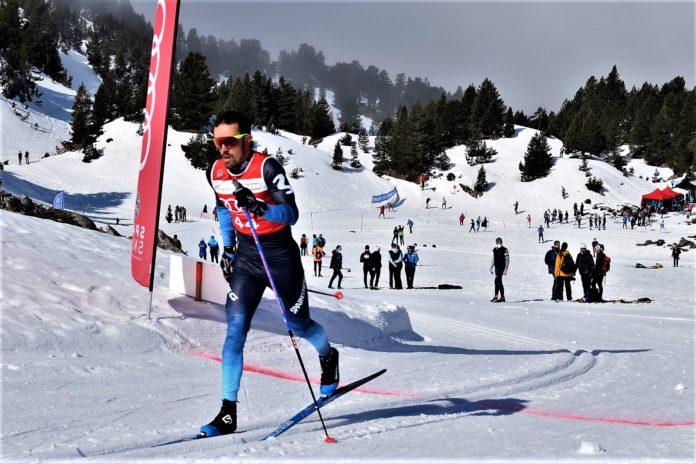 Imanol Rojo María Iglesias Campeonatos de España de esquí de fondo
