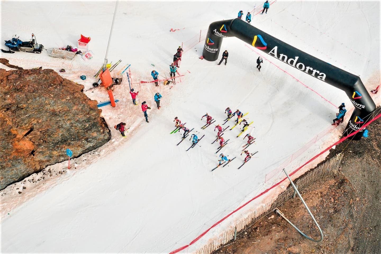 Albert Pérez Mundial skimo Andorra