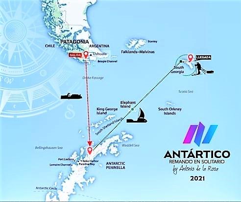 Antonio de la Rosa Desafio Antártico Ernest Shackelton