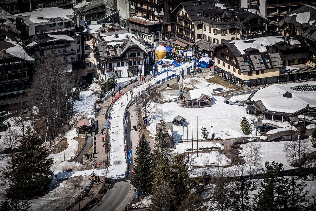 Copa del mundo esquí de montaña Madonna de Campliglio,