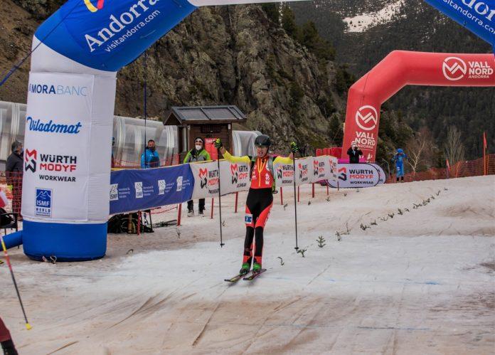 Oriol Cardona sprint Andorra