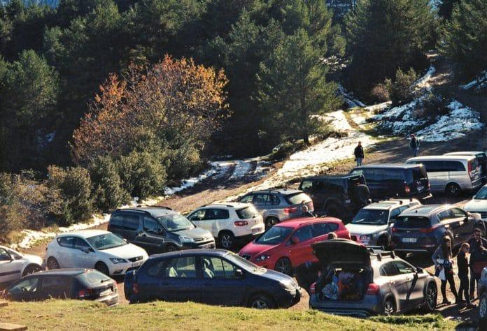 medidas regular acceso rodado montaña