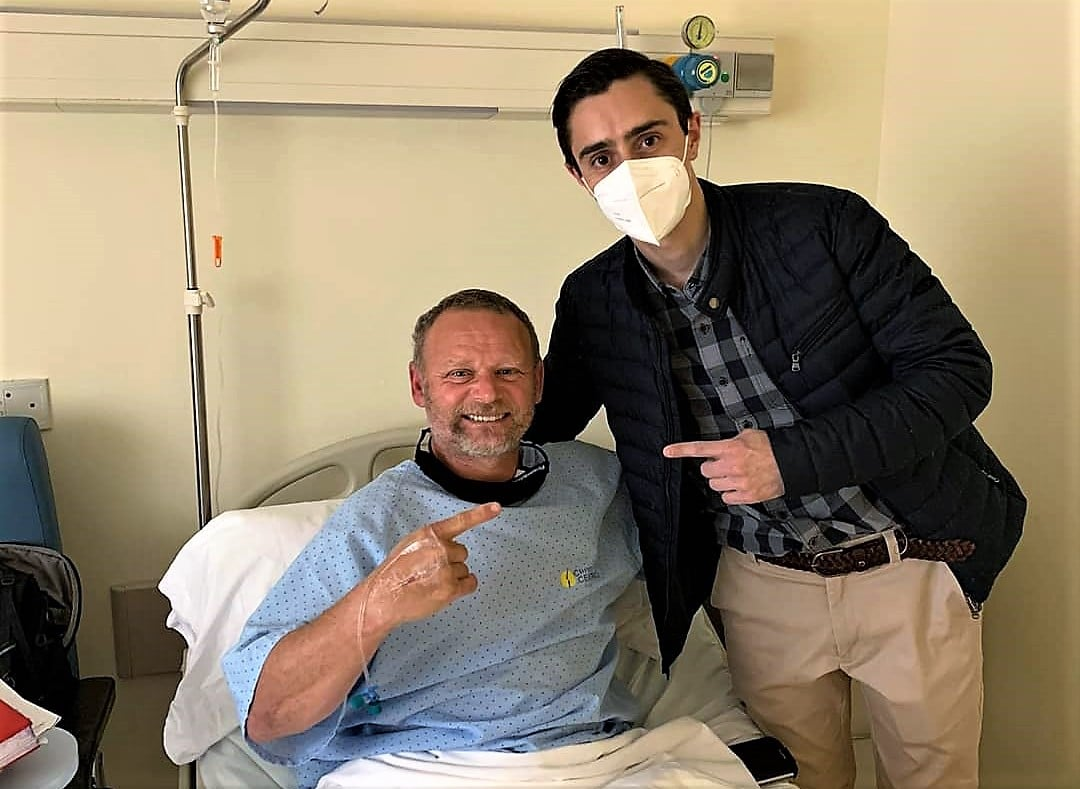 Antonio de la Rosa doctor Luis Novoa Clínica Cemtro