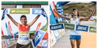 Núria Gil Jan Margarit Campeones de España de Carreras de Montaña