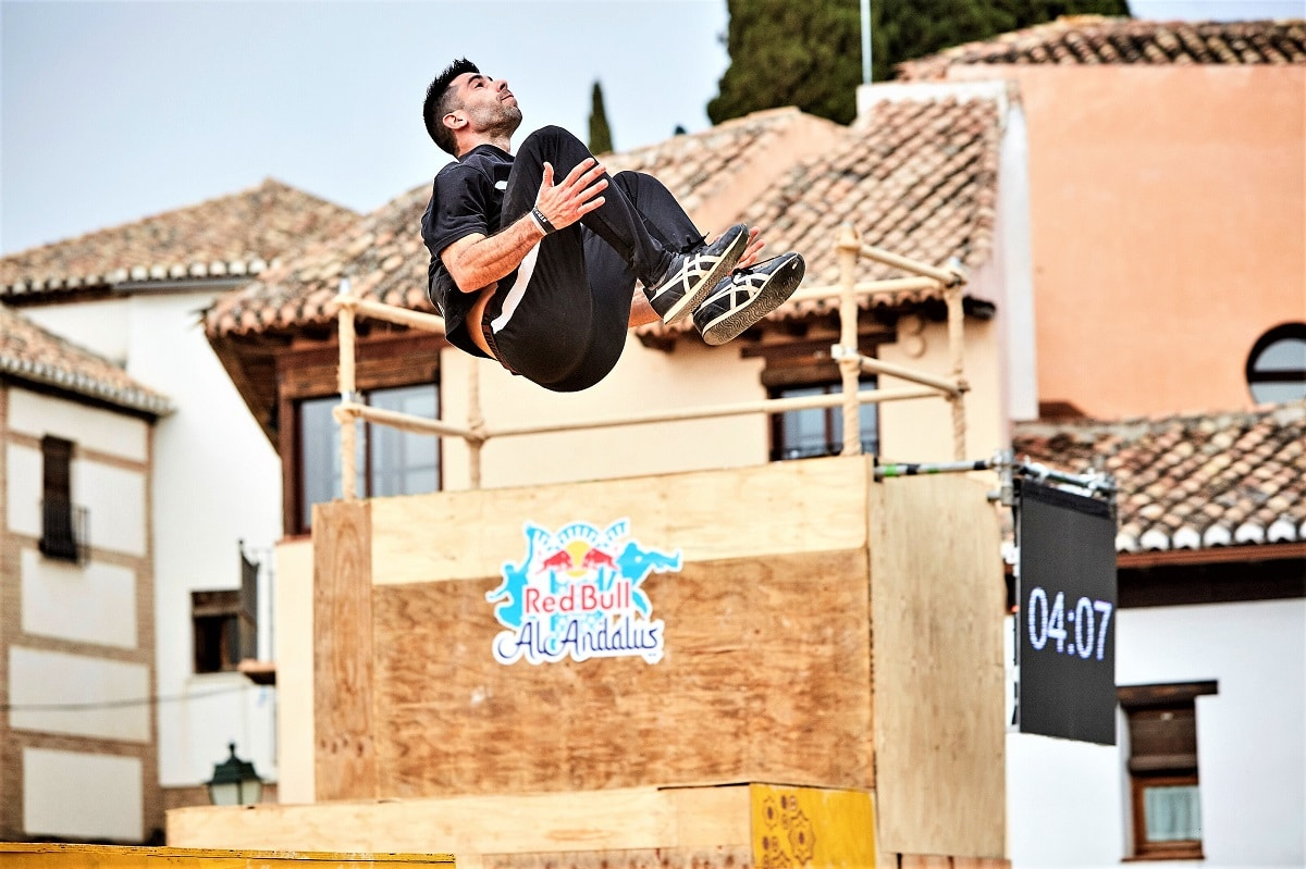 Iván Velázquez freerunning Red Bull Al-Andalus