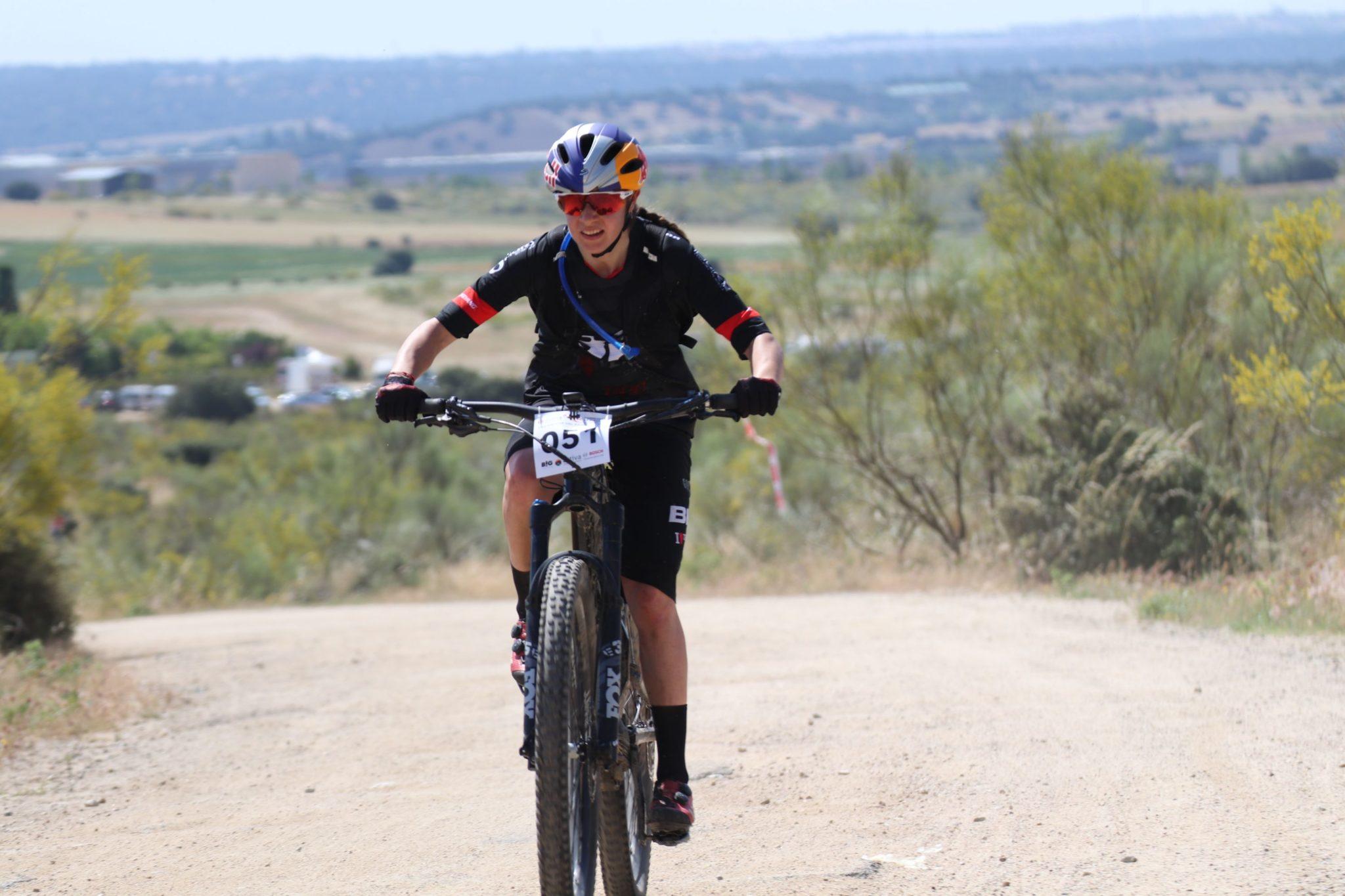 Rocío García campeones de España de MTB e-Bikes