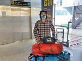 Jonatan García Los alpinistas españoles atrapados en Nepal llegan a Madrid