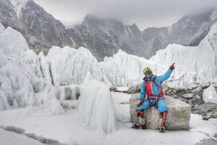 Zhang Hong Everest ciego