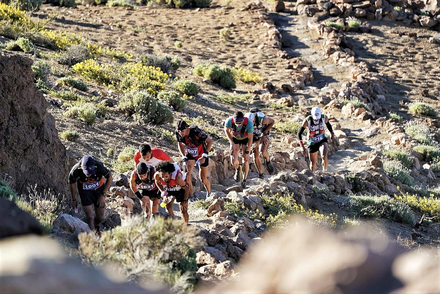 Andreu Simón Tenerife Blue Trail