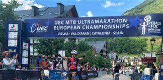 Anna Ramírez Campeonato de Europa MTB Ultramaratón