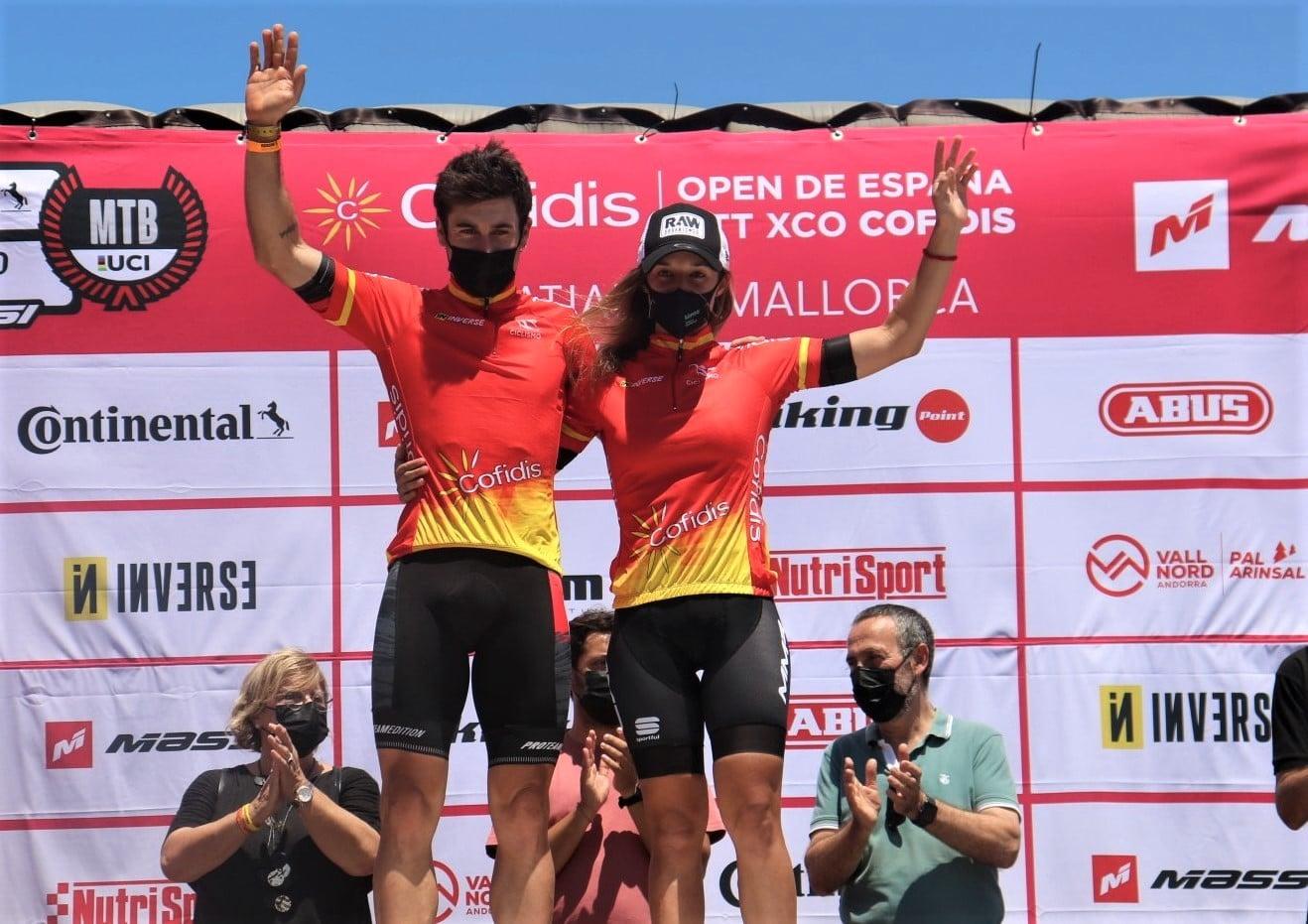 Cristofer Bosque Txell Figueras Open de España XCO Cala Ratjada