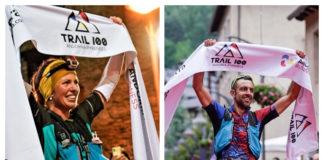 Francesco Cucco Clàudia Tremps Trail 100 Andorra-Pyrenees