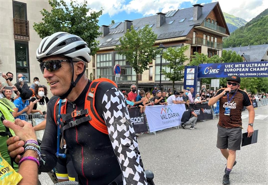 Miguel Indurain Pedals Non stop