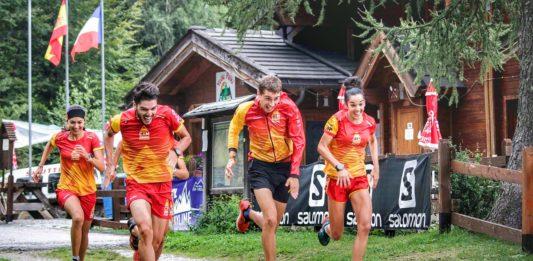 Selección española Campeonato del Mundo de Skyrunning Vall de Boí