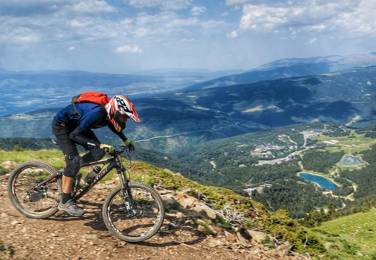 Bike Park La Molina pista Marmota