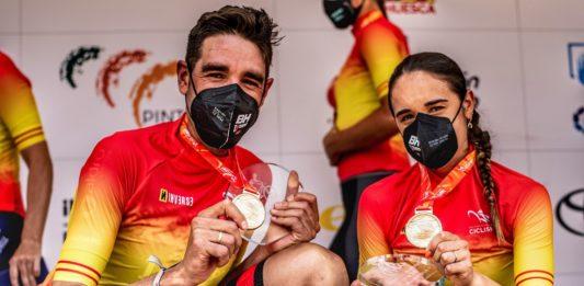 David Valero y Rocío García Campeonato de España de XCO Sabiñanigo