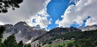 montaña trekking