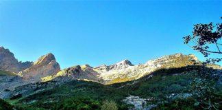 Valle de Pineta cascadas Llanos de La Larri