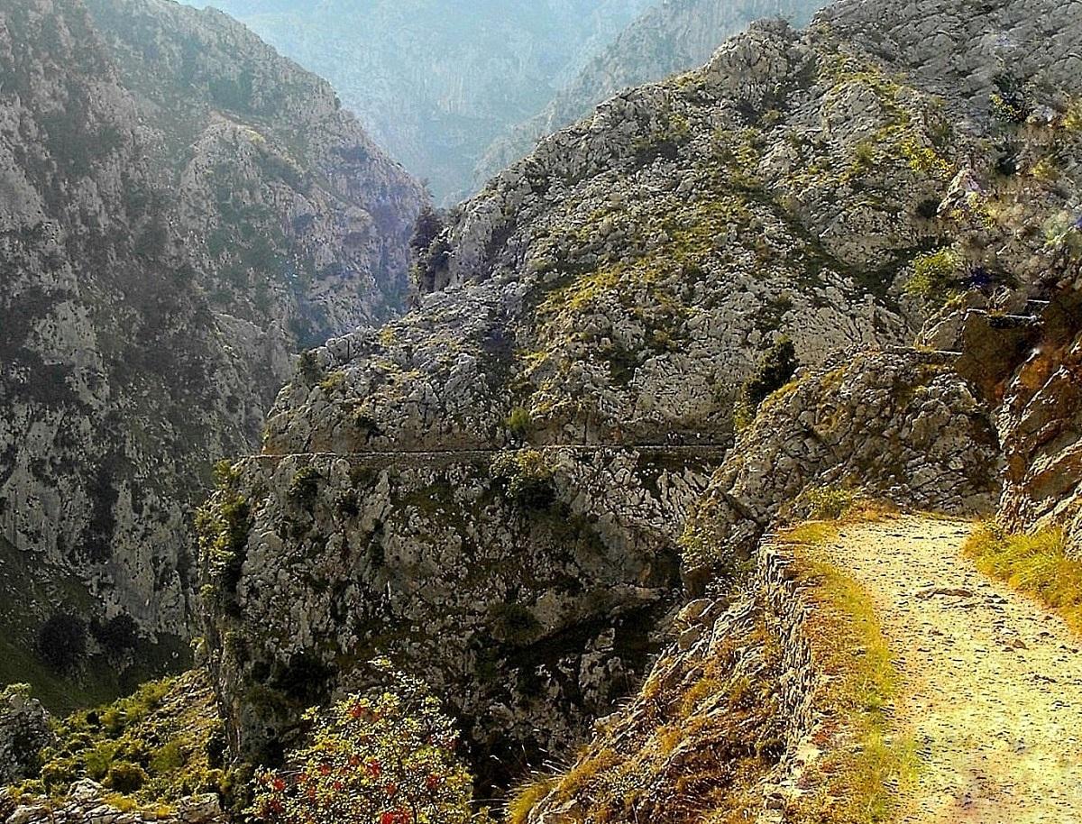 sendero rura del Cares León Asturias