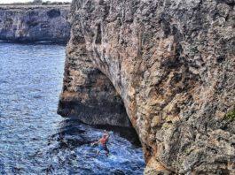 psicobloc escalada deportiva Mallorca