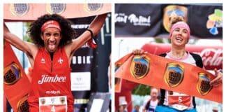 Zaid Ait Malik y Giuditta Turini Ibiza Trail Maratón